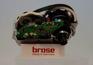 Motore elettrico centrale per bici elettrica mozzo posteriore